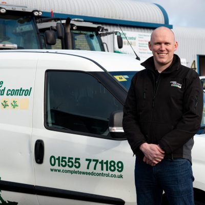 Complete Weed Control Keith Gallacher pic van
